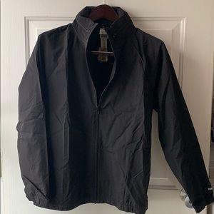 NEW ⭐️ PINK lightweight anorak w/ zip hoodie- S/M